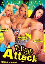 T-Girl Cock Attack Porn Video
