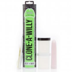 Clone-A-Willy Kit - Vibrating - Glow In The Dark