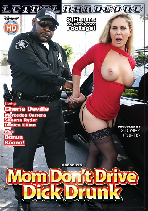 Mom Don't Drive Dick Drunk Boxcover