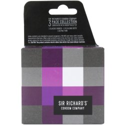 Sir Richard's Condoms - Collection Pack - 3 pk