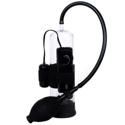 Classix Vibrating Power Pump - Black