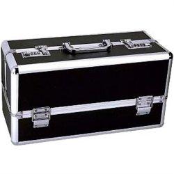 Lockable Sex Toy Storage Case - Black - Large