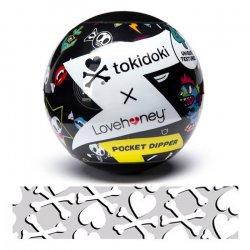 Tokidoki Pocket Dipper Pleasure Cup - Bones Texture