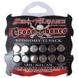 Crossbones - Alkaline LR44  Batteries - 12 pack