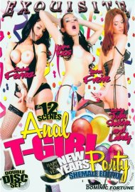 Anal T-Girl New Years Eve Party