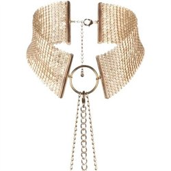 Bijoux Indiscrets: Desir Metallique Collar - Gold