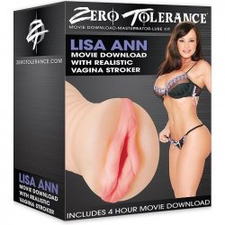 Zero Tolerance Lisa Anns Movie Download With Realistic Vagina Stroker  Sex Toy