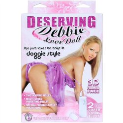 Deserving Debbie Doggie Style Love Doll