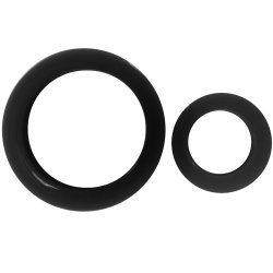 James Deen Signature Cock Rings - Black