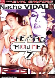 "She Said ""Blow Me"" 7 Porn Video"
