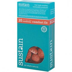 Sustain Comfort Fit Condom - 10 Pack