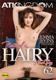 Buy ATK Natural & Hairy 62:  Anal Joy