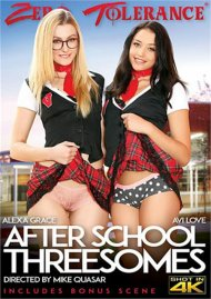 After School Threesomes Porn Video