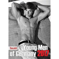 Young Men of Germany 2017 Calendar