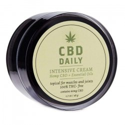 Earthly Body CBD Daily Intensive Concentrated Cream - 1.7oz Tub