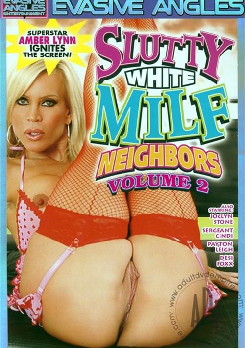 Slutty White Milf Neighbors 109