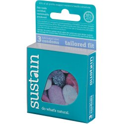 Sustain Tailored Fit Condom - 3 Pack