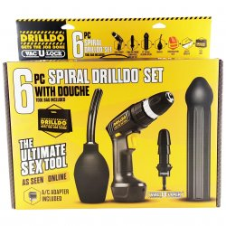 Drilldo 6 Piece Spiral Starter Set