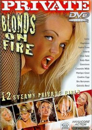 Blonds on Fire Porn Video