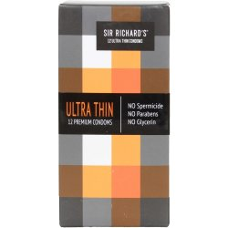 Sir Richard's Condoms - Ultra Thin - 12 pk