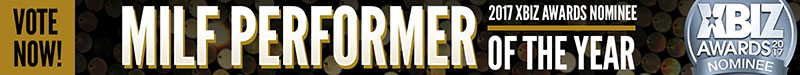 XBIZ Milf Performer of the Year Nomination Banner